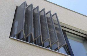 Contraventanas de aluminio Carpinteria aluminio Madrid alufran 1