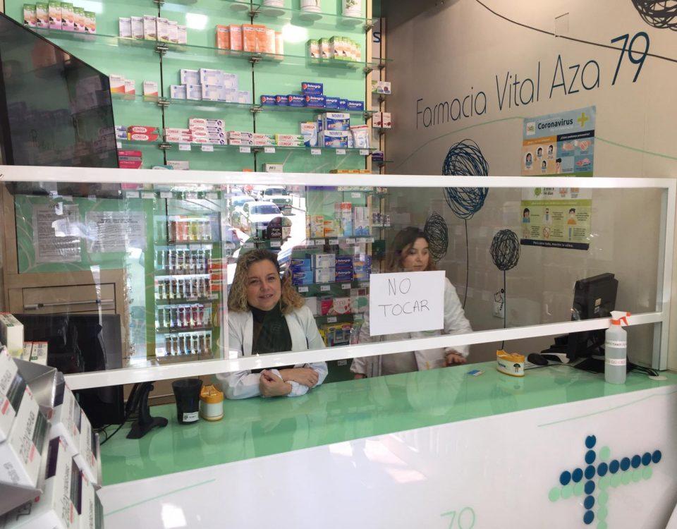 Mamparas Anti-contagio Coronavirus Farmacias y locales Madrid